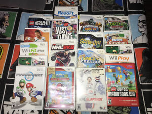Nintendo Wii with 17 games! Mint condition will go fast!