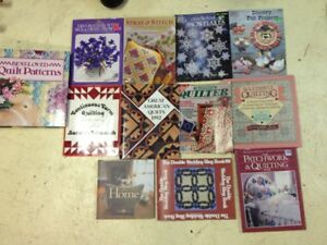 12 Quilting and Crocheting Books