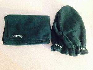 Keith's Mitten and Scarf Set (new)