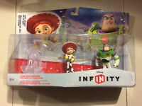 Disney Infinity Toy Story figure pack and Level Pac. New, Sealed