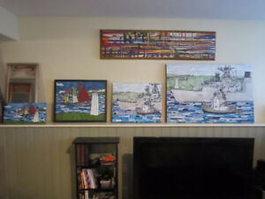 Local Artist produced Paintings