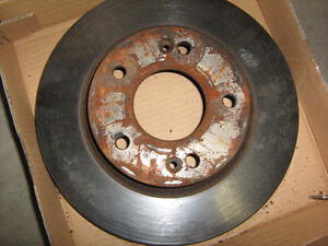 FAIRLY NEW BUT USED FRONT BRAKE ROTORS KIA SOUL