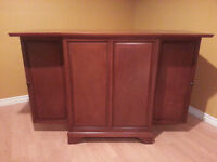 Bar for sale - Solid wood/fold up