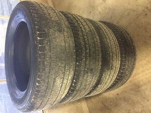 Bridgestone Dueller H/L Alenza all season tires