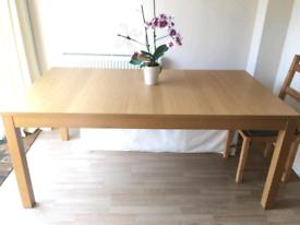 IKEA Bjursta Extendable Dining table 175-260cm