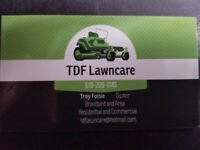 TDF LAWNCARE Lawn cutting and triming service