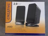 Creative A60 monitor soeakers