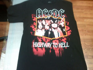 Medium Black T-Shirt AC/DC Highway To Hell