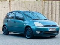 2002 Ford Fiesta 1.4 Ghia 5dr HATCHBACK Petrol Manual