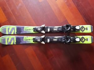 90cm Skis and 227mm Boots