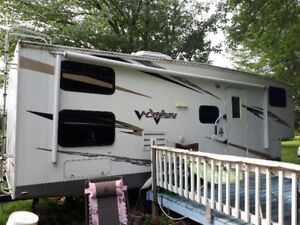 2009 forest river fifth wheel 29'