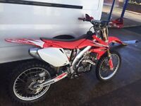 Honda Crf 450 2007 immaculate condition