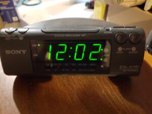 sony alarm clock