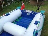 Inflatable boat punctures repaired re glue Bexley Marine tender SIB RIB Dinghy