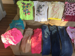 Girls Size 7 Clothes Lot - Excellent Condition