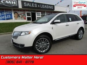 2013 Lincoln MKX   AWD, NAVI, REAR CAM, SUNROOF, HEATED LEATHER