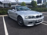 BMW M3 E46 Convertible, Manual, hard top