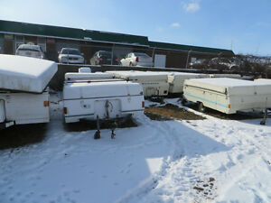 UTILITY TRAILERS FROM TENT TRAILERS