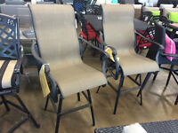 Outdoor Bar Chairs - INSIDEOUT PATIO