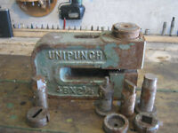 UNIPUNCH.....Industrial....Includes 7 punches