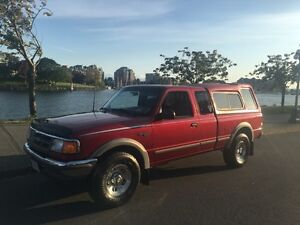 Mint Ford Ranger 4x4 X-cab. ONLY 80,000 K Mls - TRADE?