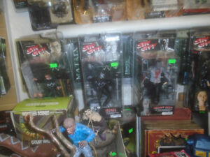 McFARLANE SIN CITY ACTION FIGURES TOYS MARV GOLDIE