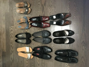Women's size 10 and 11 shoes and sandals