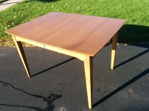 Sturdy solid wood table