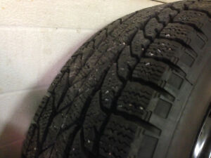 4 winter tires 215/60 R16 Toyota