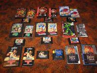 Sega Genesis Video Games CIB Complete, In Box & Loose