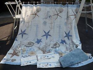 rideau de douche collection Antigua  et accessoires