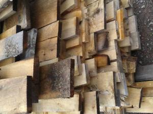 "1"" hardwood boards"