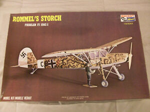 1/32 - Fiesler Fi-156 C-1 Rommel's Storch - model kit all decals