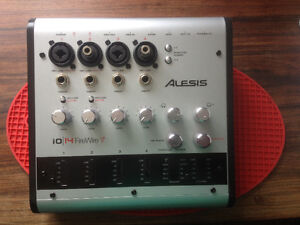 ALESIS i0-14 digital mixer,multi channel 24 bit, 44.1-192khzPRO