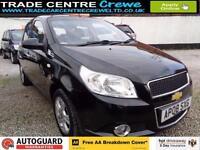 2008 08 CHEVROLET AVEO 1.4 LT 5D PETROL AUTO - CAR FINANCE FROM £25 PER WEEK
