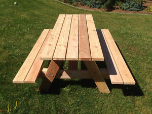 6' Cedar Picnic Tables