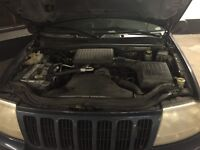 2000 Jeep grand ch 4.7L v8 engine and parts