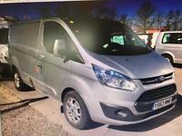 2014 Ford Transit Custom 2.2TDCi ( 125PS )290 L2H1 Limited / SWB / AIR-CON / FSH