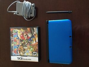 Nintendo 3DS XL with Mario Party Game