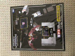 Transformers MP-13B Soundblaster and Ratbat - Masterpiece MP