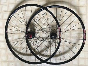 "NEW Sun-Ringle Disc-O-Flea 26"" MTB Wheels. XC Bike Wheelset."
