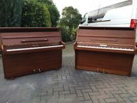 Small modern upright piano by squire & Longson. Belfast pianos.