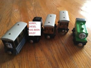 Toby, Annie, Clarabelle & Duck - Thomas the Tank Engine