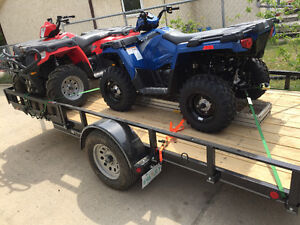 I have 2 quads for sale