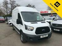 2017 Ford Transit 2.0 350 L3 H3 P/V DRW 129 BHP IN WHITE WITH 70,000 MILES AND A