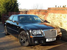 Chrysler 300C 3.0CRD V6 auto Black - 57K, FSH, High Spec, Private Plate!