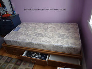 moving sale-children beds and mattresses and sport items
