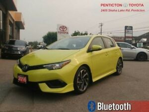2016 Scion iM 4DR HB CVT  - TOUCH SCREEN -  BLUETOOTH