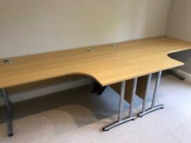 Office desks x 2 perfect condition
