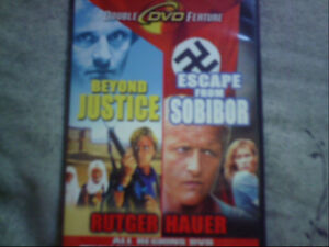 RUTGER HAUER DOUBLE DVD-NEW!